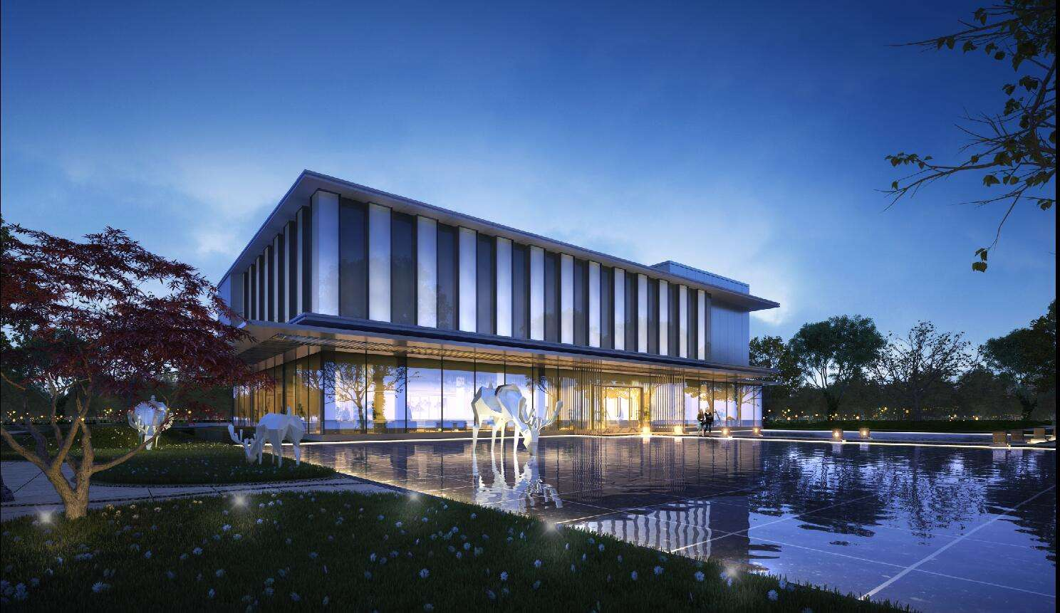 室外景观建筑 飞特网 建筑景观设计