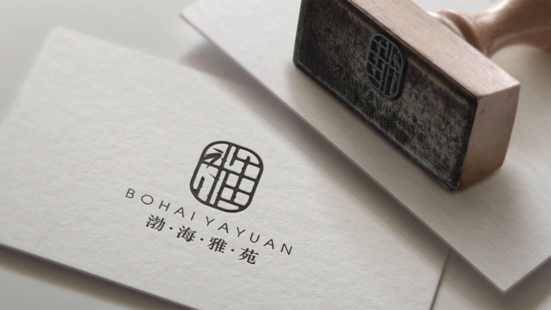 中式地产LOGO设计 飞特网 标志设计
