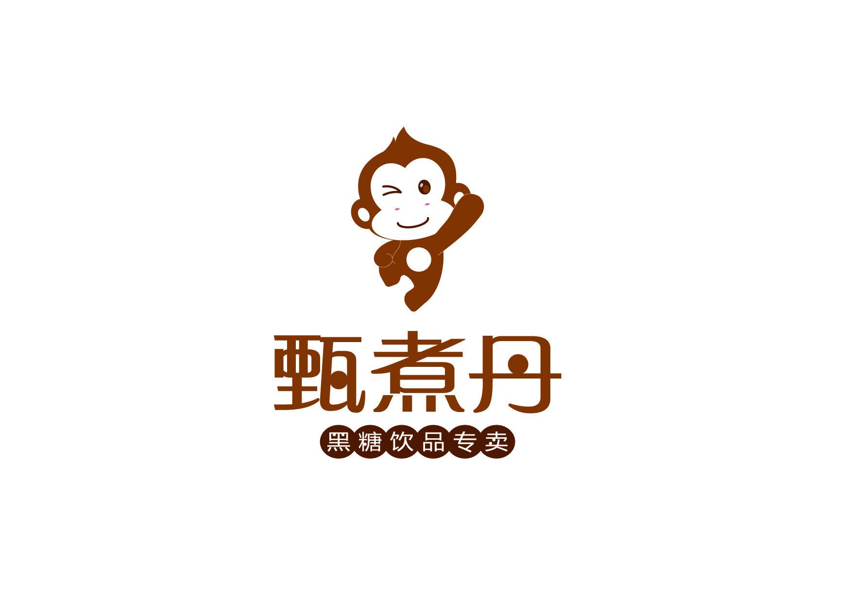 甄煮丹奶茶品牌IP设计 飞特网 吉祥物设计