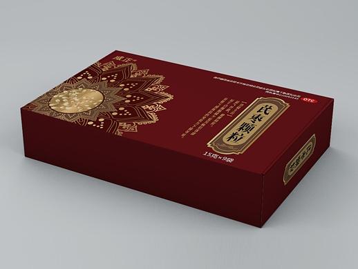 通脉颗粒/补肾龙斑片/芪枣颗粒包装盒