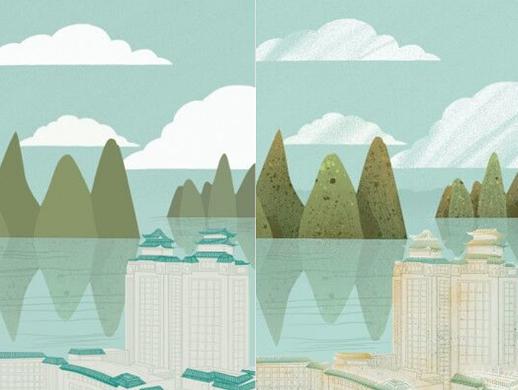 【商业插画】噪点插画设计系列,思路与设计方法分享