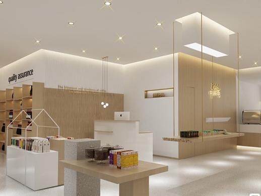 山东商场轻奢咖啡店设计