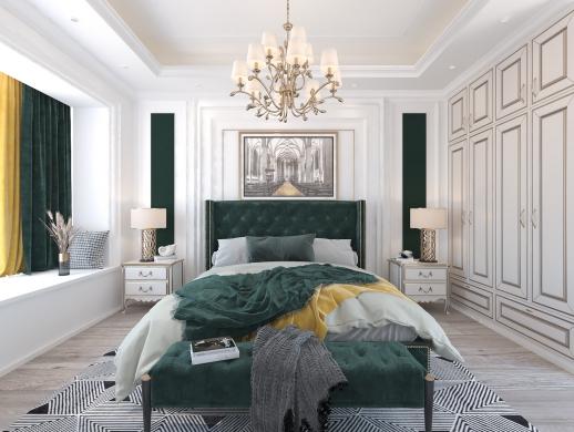 法式卧室设计
