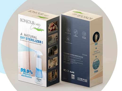 消毒水自制仪包装设计