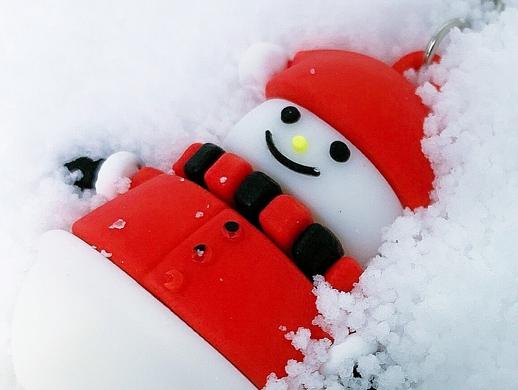 瞬时玩具DIY人造雪花摄影作品