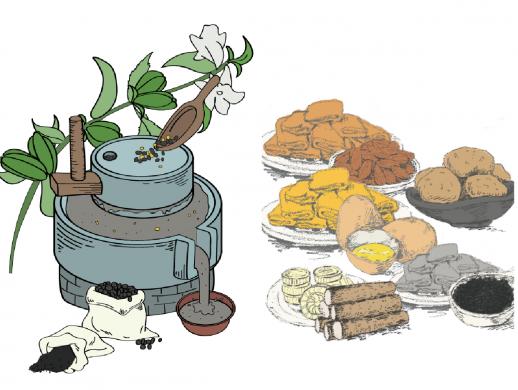 食品类包装插画