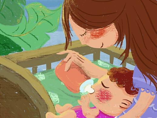 临摹儿童插画设计