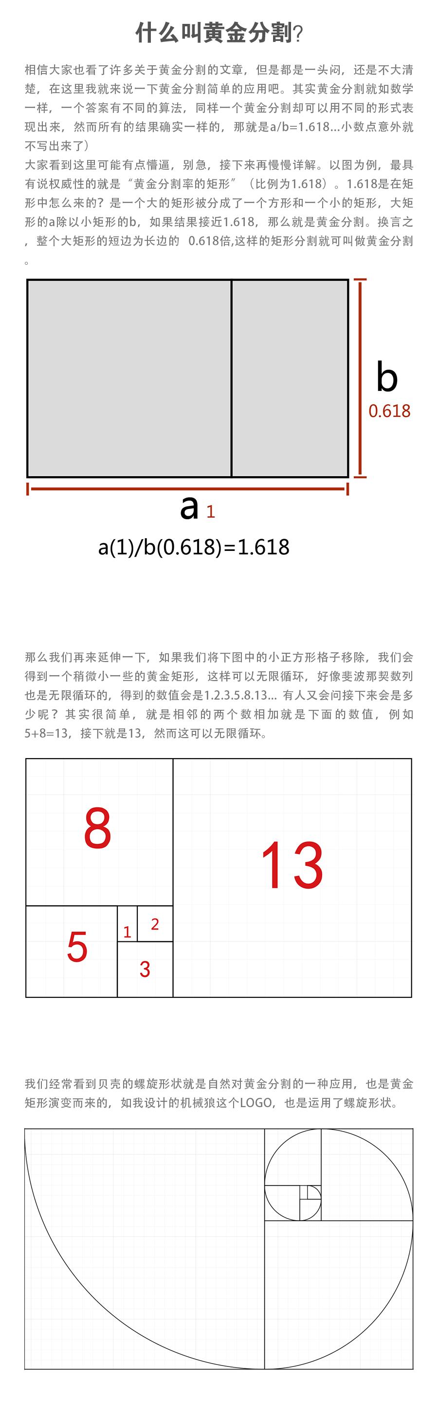 实例详解黄金分割+布尔运算+正负形LOGO(图标方向详情) 飞特网 AI实例教程