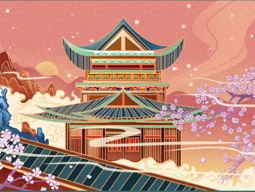 插画设计-新中国风插画绘制详细教程