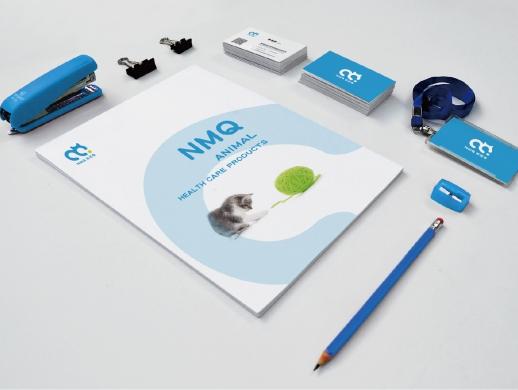 诺迈齐宠物医药品牌形象标志VI logo设计