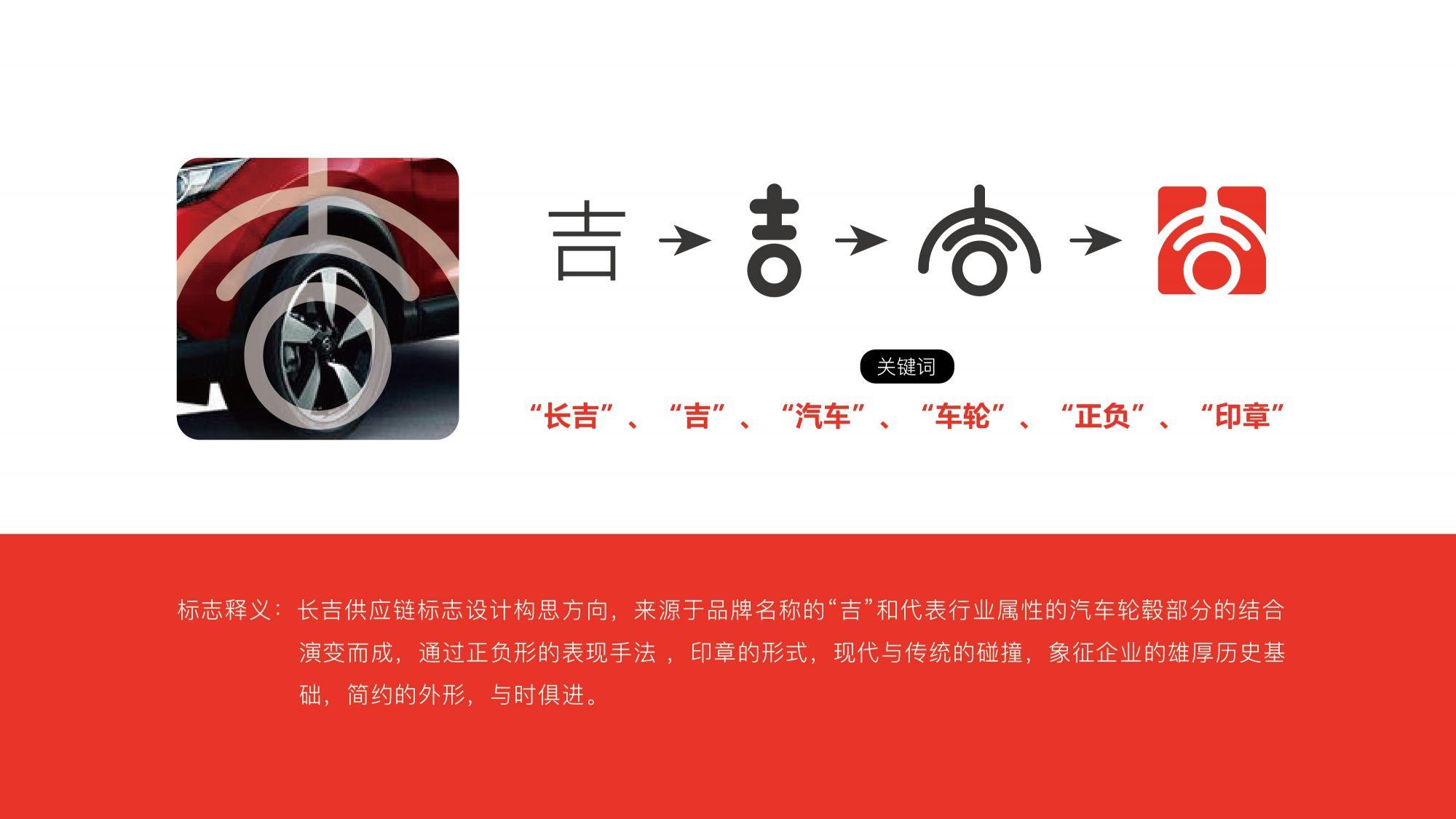 长吉物流品牌形象标志设计VI设计 飞特网 VI设计