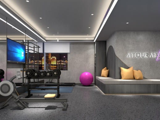 廊坊亚朵酒店设计案例