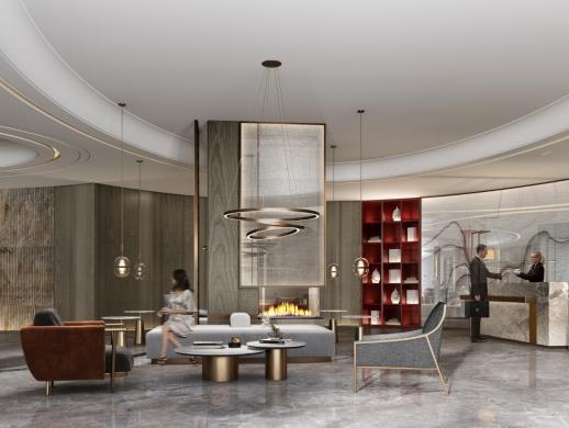 非设计-乌海蓝梦酒店设计改造案例