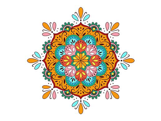 对称花纹设计