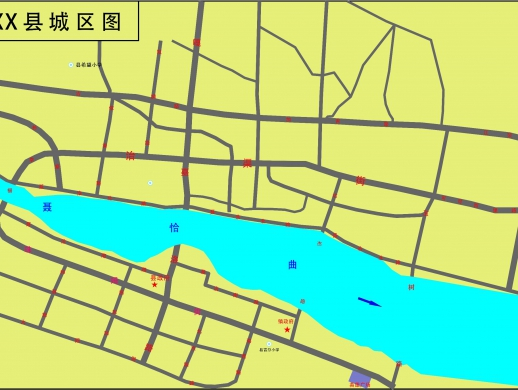 简单城区图