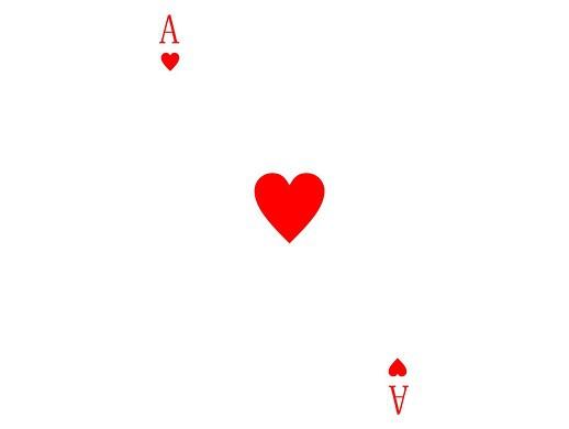 扑克牌制作