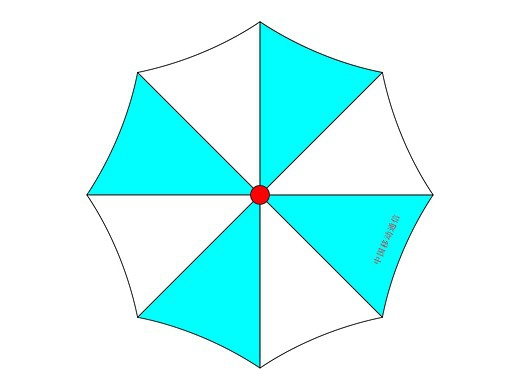 CDR制作雨伞作业