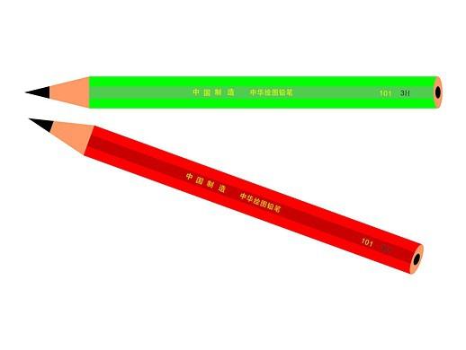 CorelDRAW简单绘制铅笔