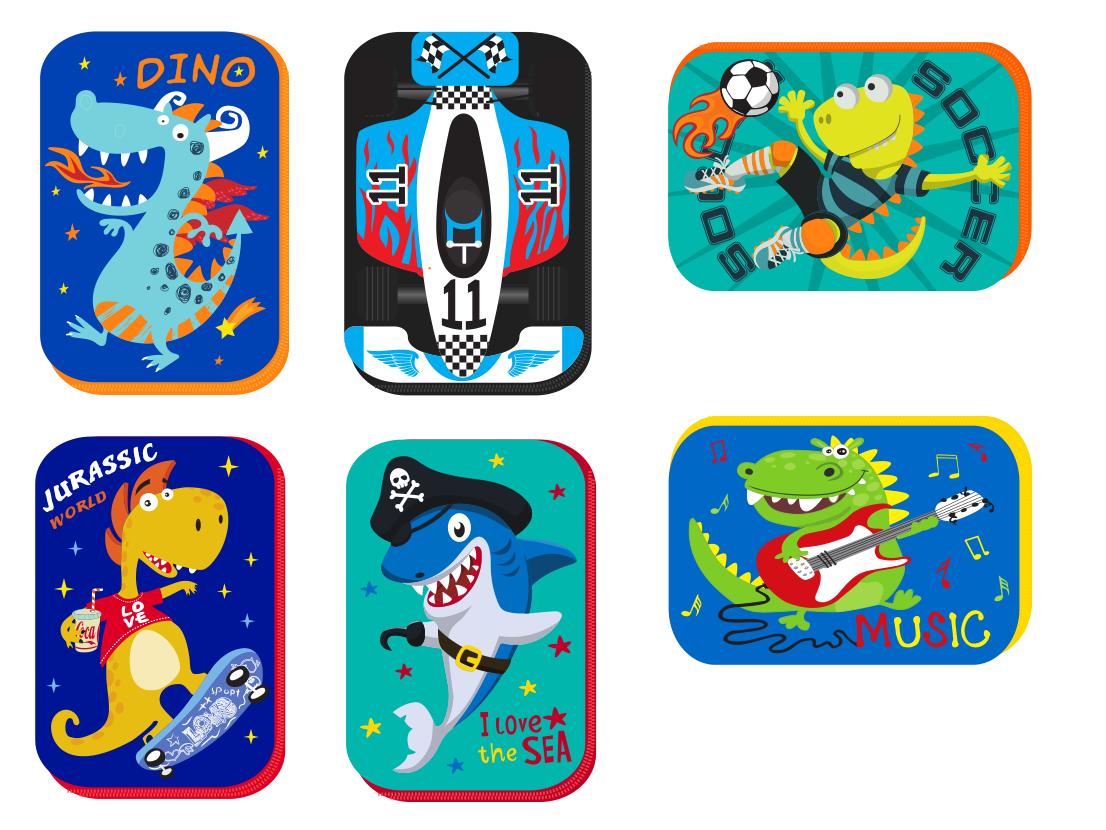 国外儿童文化平面设计 飞特网 原创包装设计