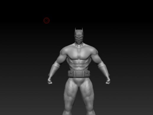 裸模蝙蝠侠
