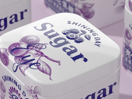 sugar亮神花果糖包装设计