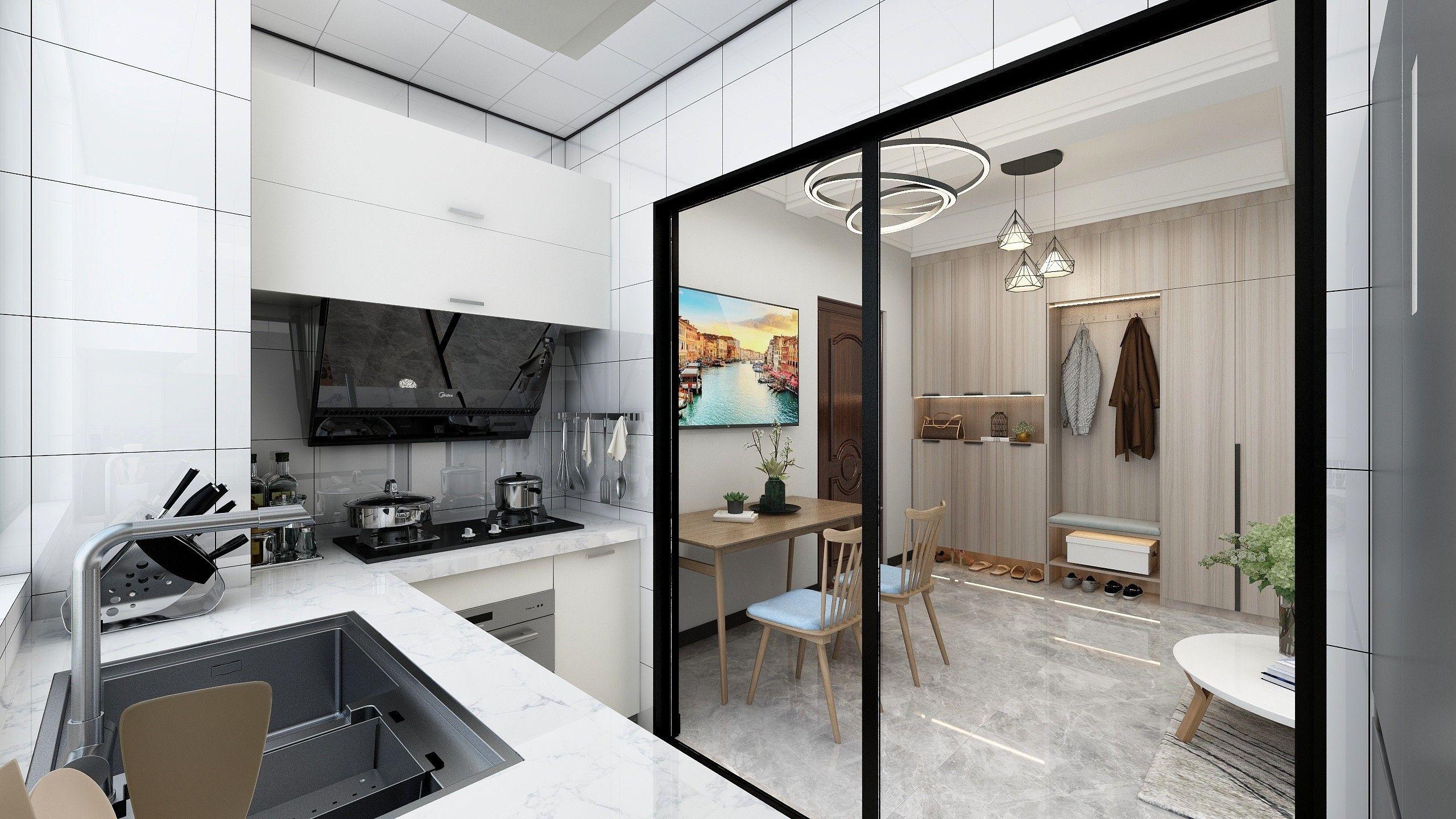 北欧小清新室内设计 飞特网 原创室内设计