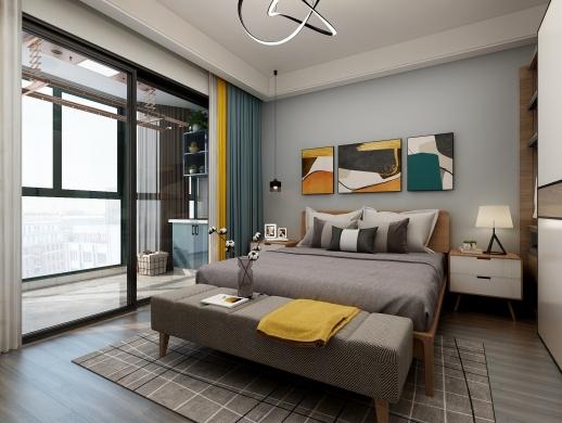 北欧小清新单身公寓室内设计