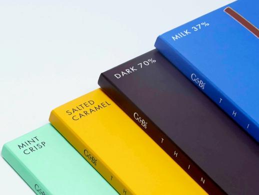 简约质感风格巧克力包装设计