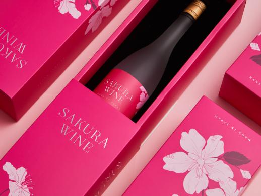 樱花主题风格产品包装设计