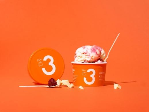 冰激凌连锁店品牌VI设计