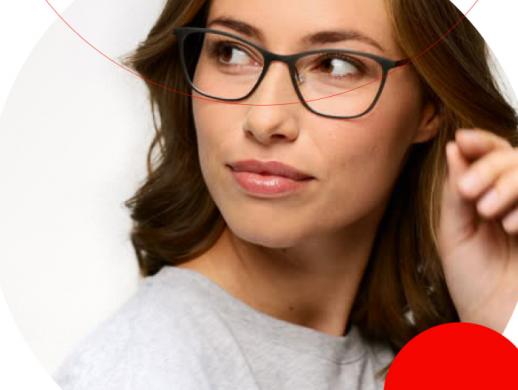 眼镜品牌标志和VI设计