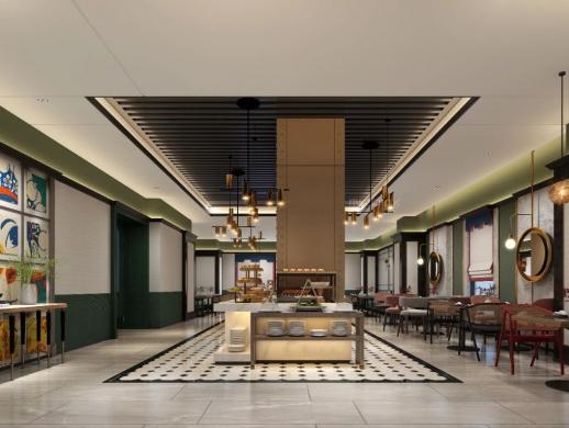 非设计分享——轻奢风蔚徕酒店设计