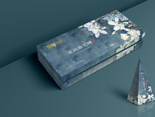茶包和茶叶礼盒包装设计