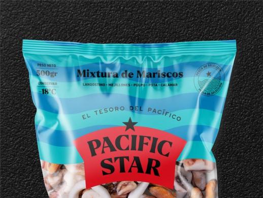 海鮮產品包裝設計