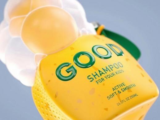 可爱风格洗发水包装设计