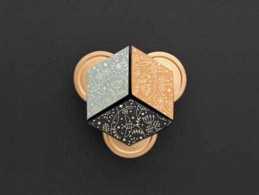 超精致风格的蜂蜜包装设计