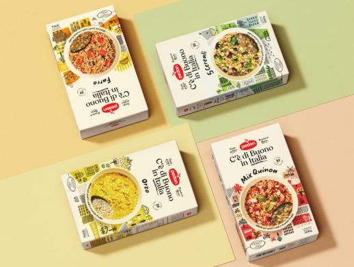 营养麦片包装盒设计