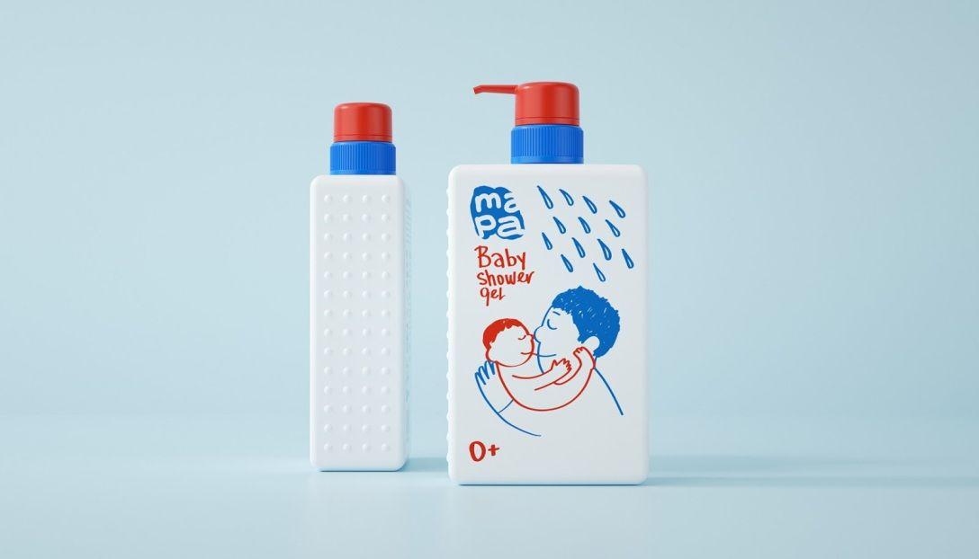 婴儿洗护产品包装设计