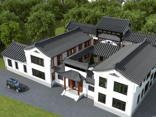 庭院设计双拼别墅设计