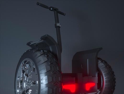 平衡车产品建模