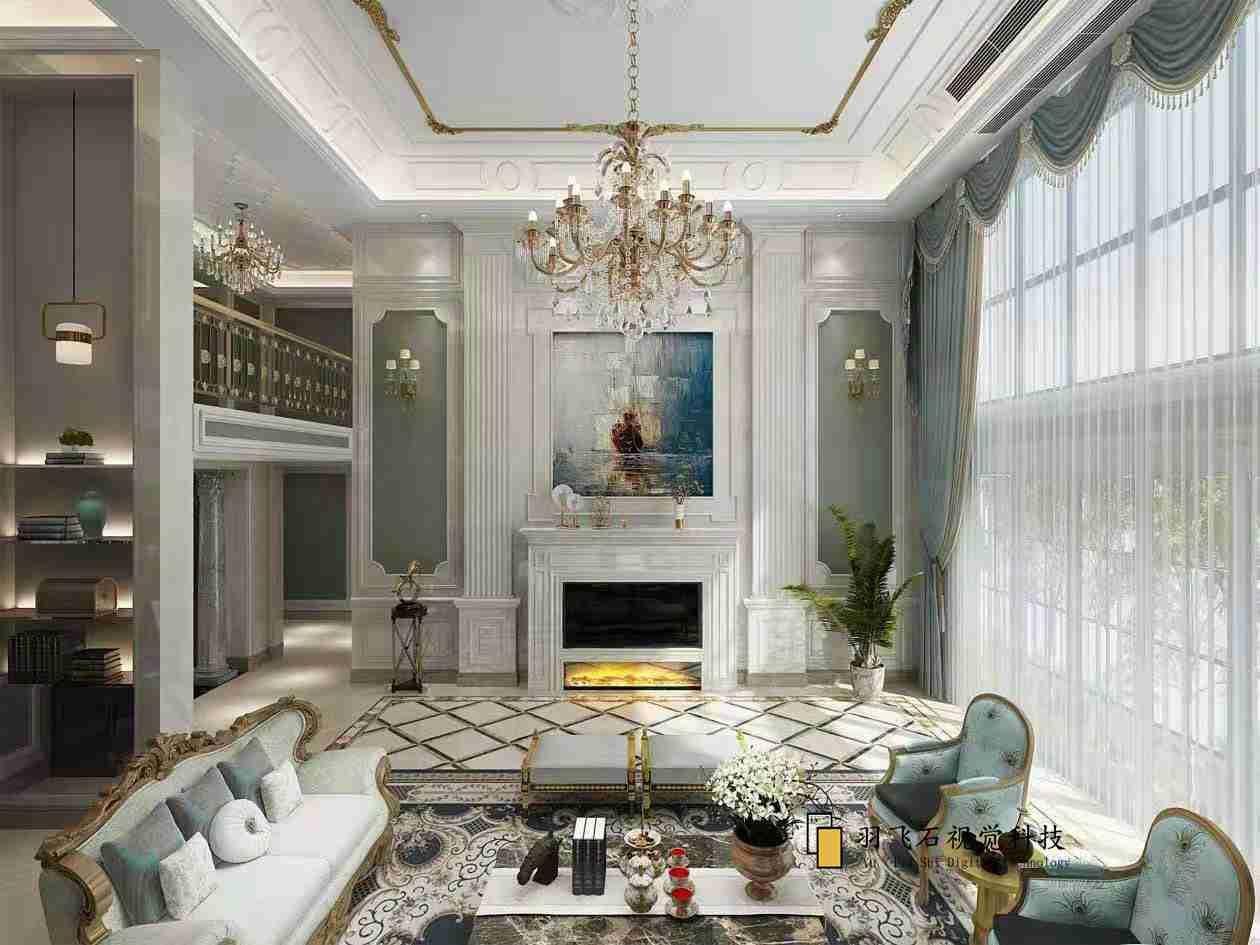美式风格室内设计
