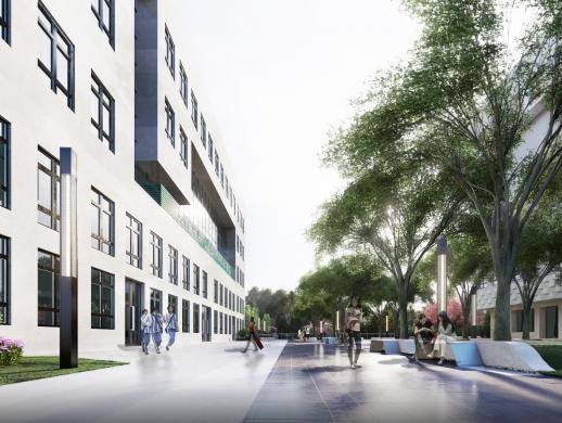 学校休闲广场景观设计