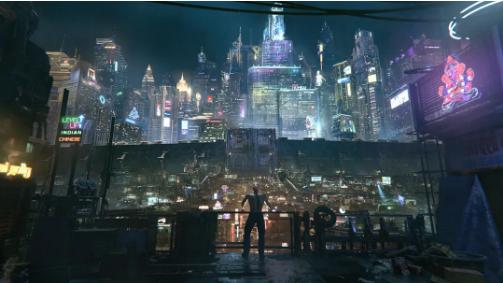 Cyberpunk Neo Dharavi-Renderbus瑞云渲染农场