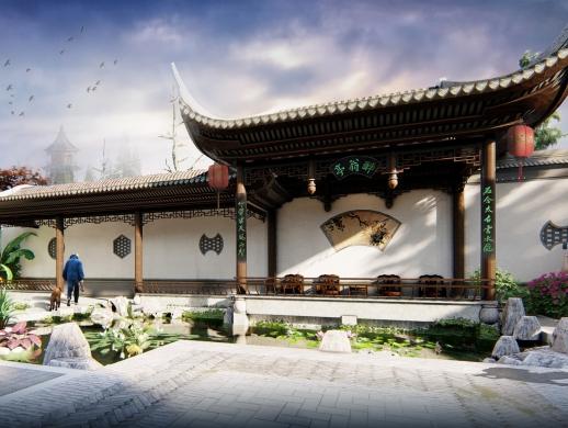 江南私家园林景观设计