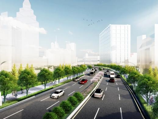 市政道路景观