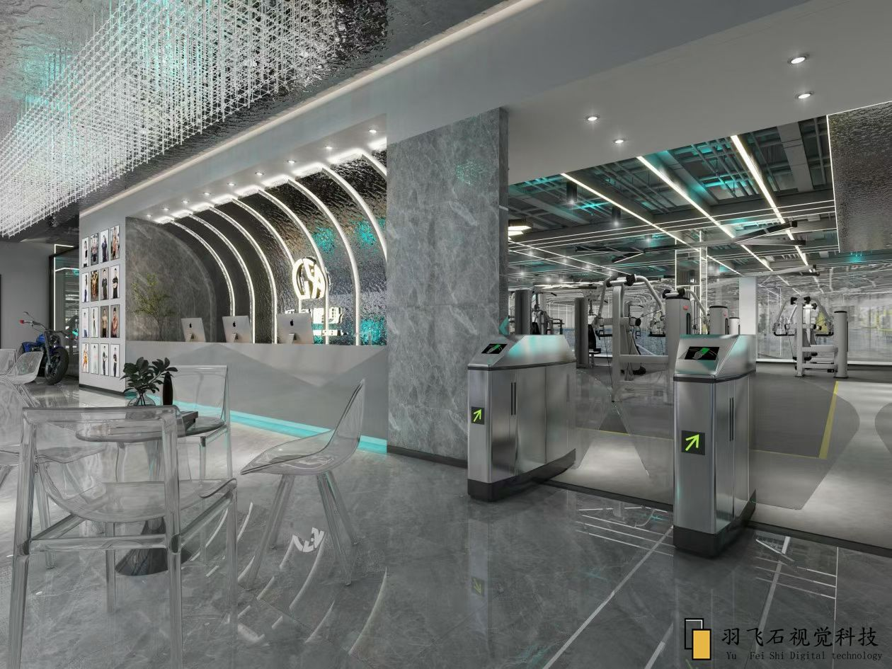 健身房室内空间设计