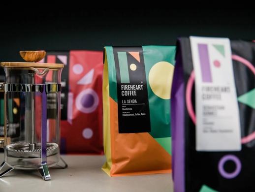 趣味风格咖啡品牌包装设计