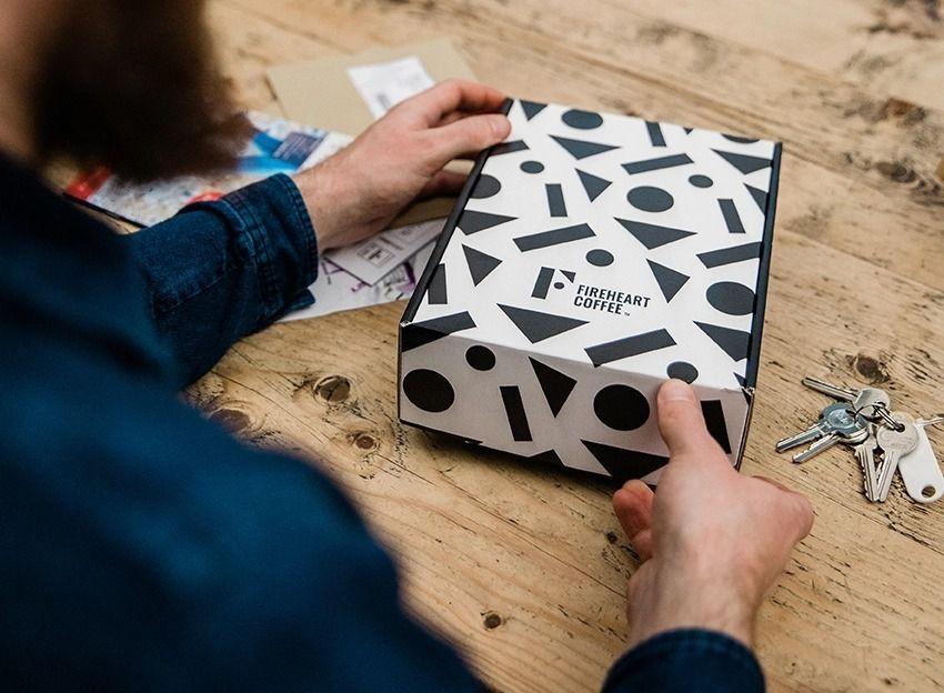 趣味风格咖啡品牌包装设计 飞特网 食品包装设计