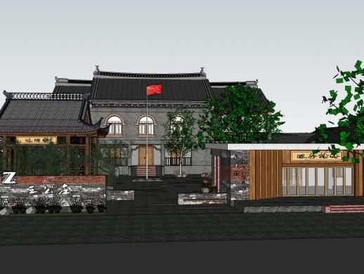 王公庄村委会设计