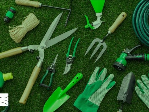 园艺工具公司品牌标志设计